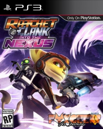 RATCHET & CLANK INTO THE NEXUS [PS3]
