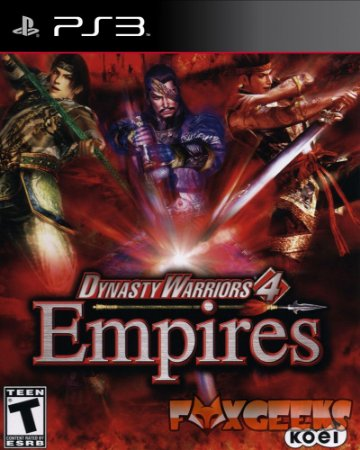 SAMURAI WARRIORS 4 EMPIRES [PS3]