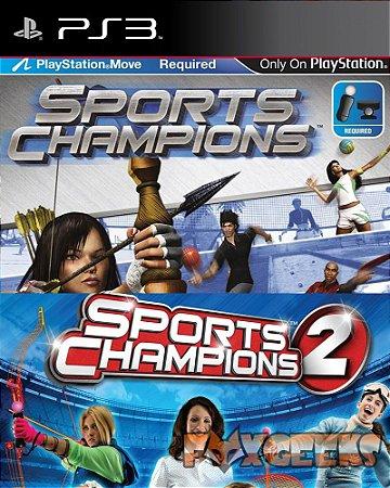 SPORTS CHAMPIONS 1 E 2 [PS3]