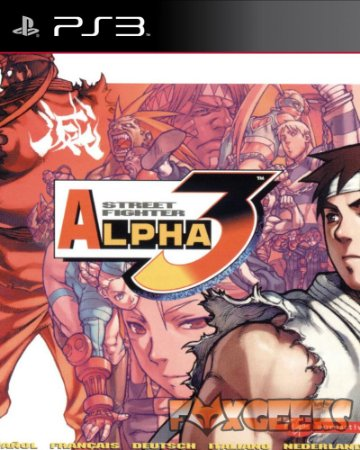 STREET FIGHTER ALPHA 3 (PSONE CLASSIC) [PS3]