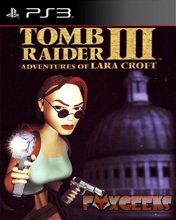 TOMB RAIDER 3 ADVENTURES OF LARA CROFT [PS3]