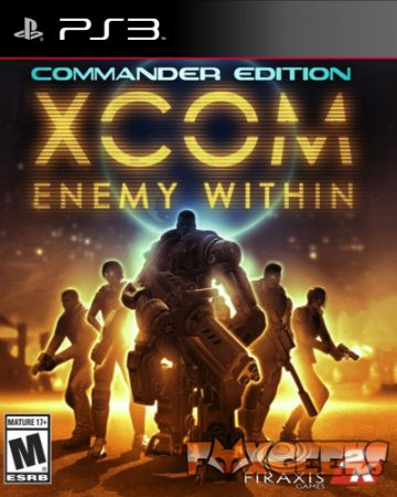 XCOM ENEMY WITHIN [PS3]