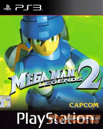 MEGA MAN LEGENDS 2 (Clássico PSOne) [PS3]