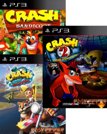 Crash Bandicoot Trilogy (Clássico PSOne) [PS3]