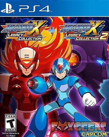 Mega Man X Legacy Collection 1+2 [PS4]