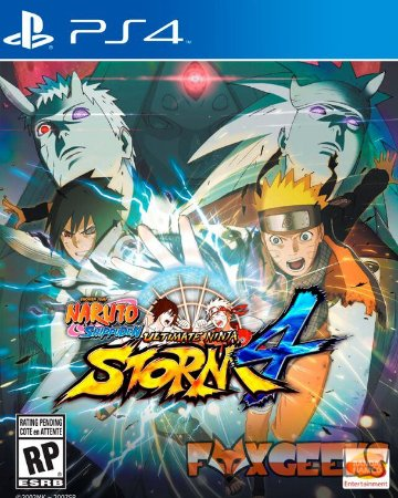 NARUTO SHIPPUDEN: Ultimate Ninja STORM 4 [PS4]