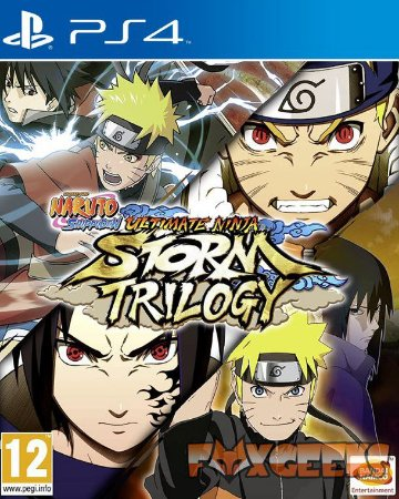 NARUTO SHIPPUDEN: Ultimate Ninja STORM Trilogy [PS4]