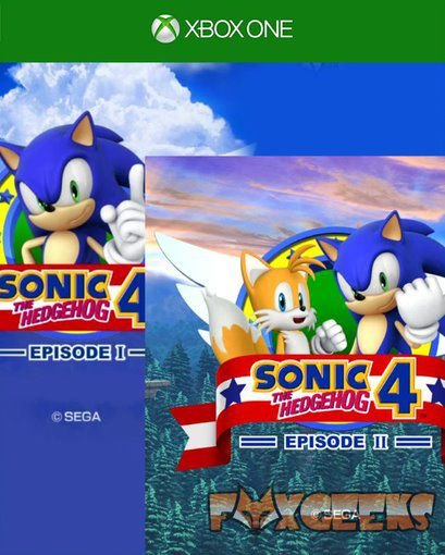SONIC 4 Episode I e Sonic The Hedgehog 4 Episode II  [Xbox One]