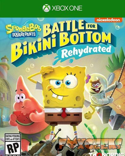 Bob Esponja Calça Quadrada: Batalha pela Fenda do Biquíni [Xbox One]