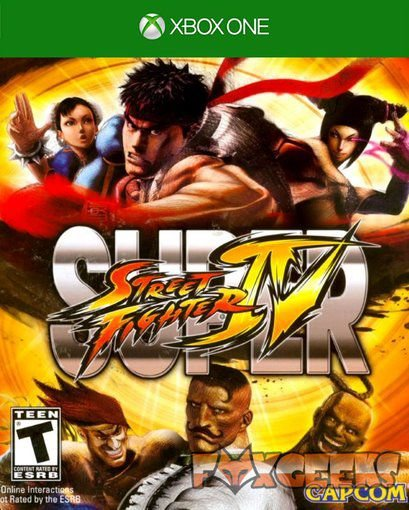 SUPER STREETFIGHTER IV ARCADE EDITION [Xbox One]