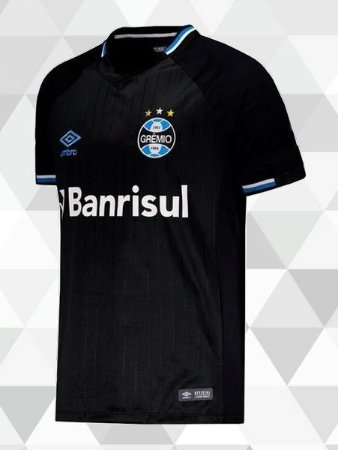 02490f6472296 Camisa Umbro GRÊMIO 18 19 Third TORCEDOR - Müller Sports