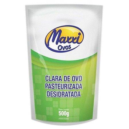 CLARA DE OVO PASTEURIZADA DESIDRATADA (500G) - MAXXI OVOS