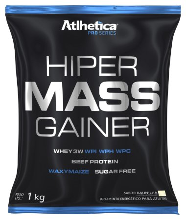 HIPER MASS GAINER REFIL (1KG) - ATLHÉTICA NUTRITION