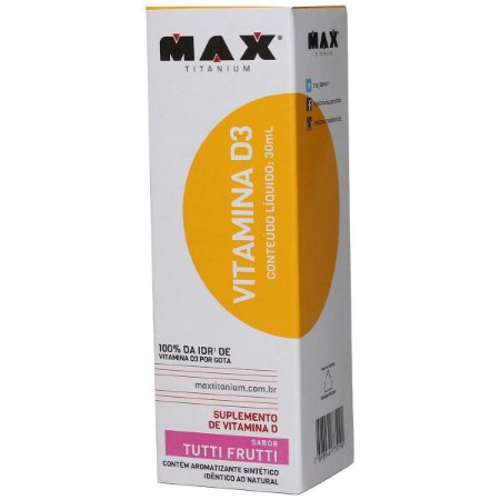VITAMINA D3 (30ML) - MAX TITANIUM