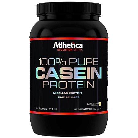 100% PURE CASEINA (900G) - ATLHÉTICA NUTRITION