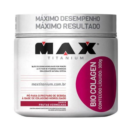 COLÁGENO (300G) - MAX TITANIUM