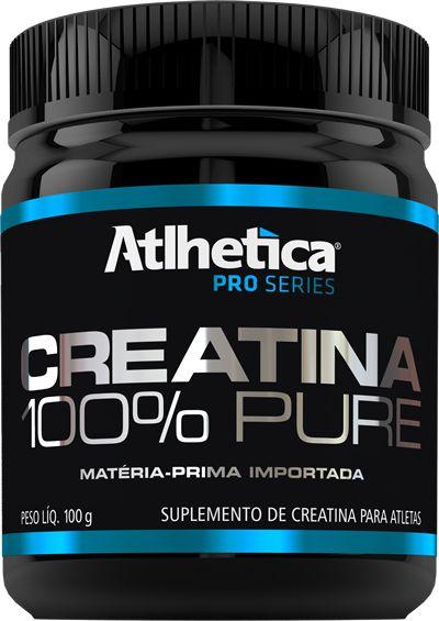 CREATINA 100% PURE (100G) - ATLHÉTICA NUTRITION