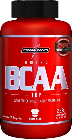 BCAA TOP (240 CAPS) - INTEGRALMEDICA