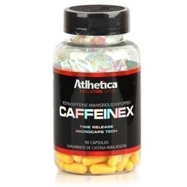 CAFFEINEX (90 CAPS) - ATLHÉTICA NUTRITION
