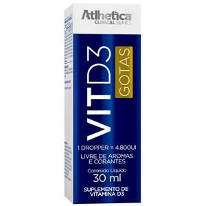 VIT D3 (30ML) - ATLHÉTICA NUTRITION