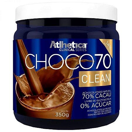 CHOCO7 70 CLEAN (350G) - ATLHÉTICA NUTRITION