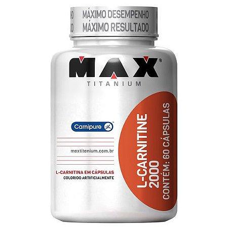 L-CARNITINE 2000 (60 CAPS) - MAX TITANIUM