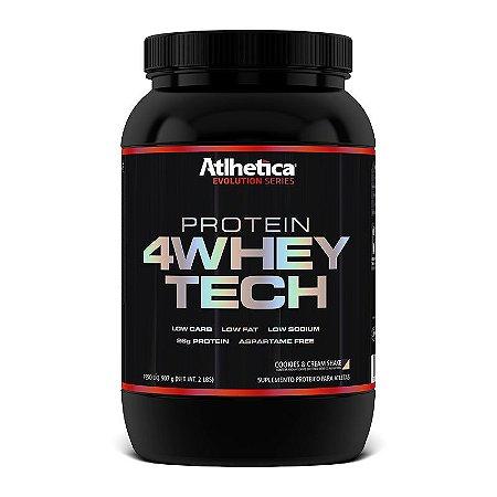 4WHEY TECH (900G) - ATLHÉTICA NUTRITION
