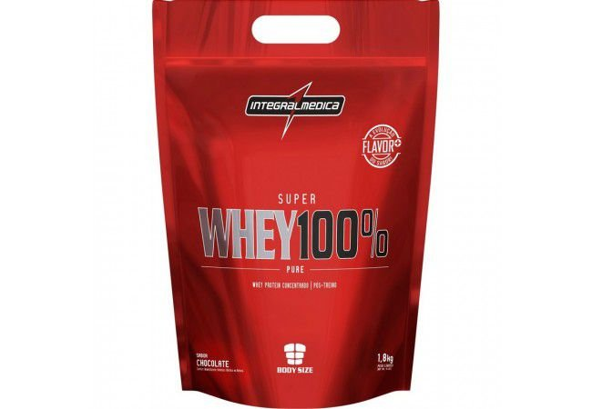 SUPER 100% WHEY (1,8KG) - INTEGRALMEDICA