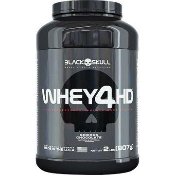 WHEY 4D (907G) - BLACK SKULL