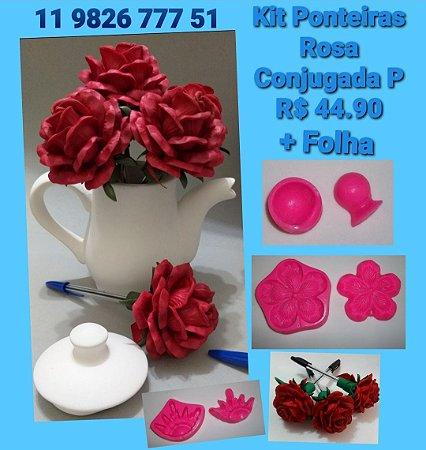 Kit frisadores Ponteira de Rosas P