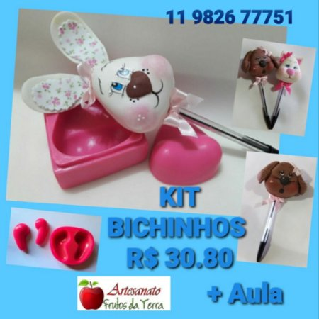 Kit frisadores Bichinhos