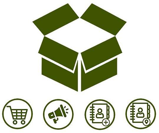 Combo 2 |  Loja Virtual + Vitrine de Promoções + Catálogo de Atividades + Catálogo de Endereços