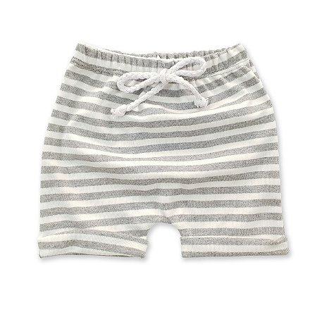 Shorts Listrado Mescla