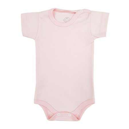 Body Básico Rosa Bebê