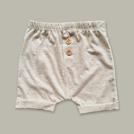 Shorts Braguilha Off White