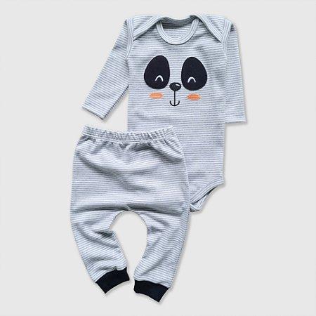Conjunto Panda Listrado