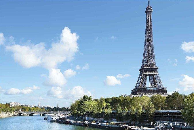 Quadro em canvas CIDADES - PARIS I