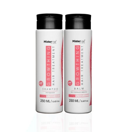 KIT SHAMPOO + BALM - MISTER HAIR - 250ml