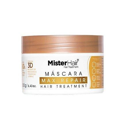 Max Repair Mascara Reparadora - Mister Hair - 200ml