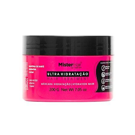 Mascara Ultra Hidratação - Mister Hair - 200ml