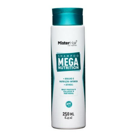 Shampoo Mega Nutrition - Mister Hair - 250ml