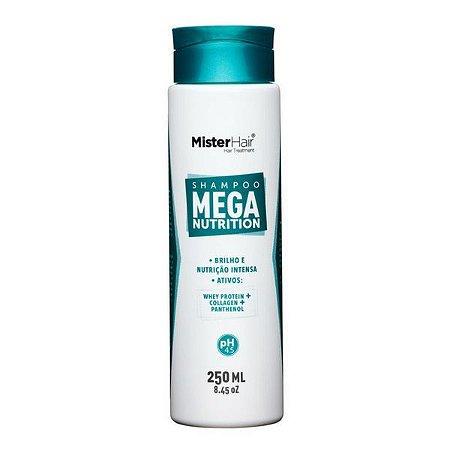 Shampoo Mega Nutrition - Mister Hair - 250ml