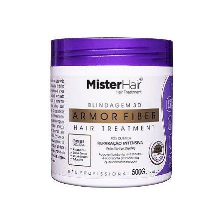 Armor Fiber - Blindagem 3D Capilar - Hair Treatment - 500g