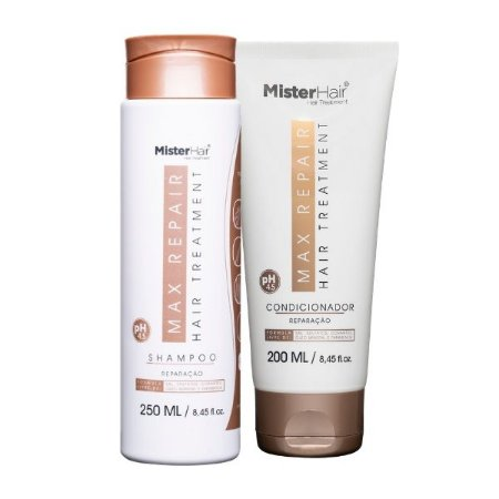 kit Max Repair (Shampoo e Condicionador)  - Mister Hair