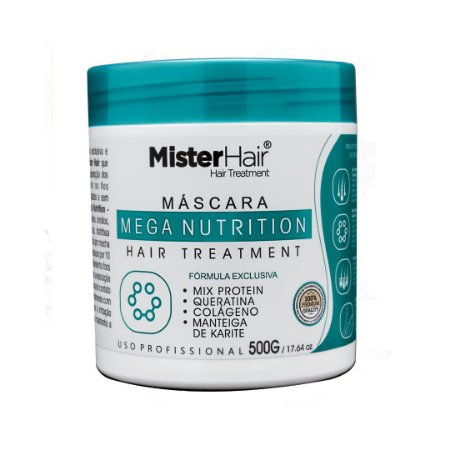 Máscara Mega Nutrition - 500g - Mister Hair