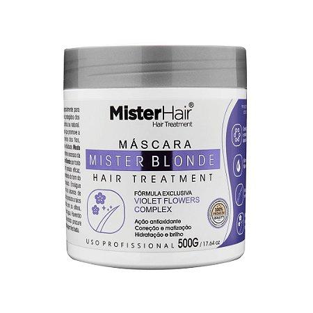 Máscara Mister Blonde - 500g - Mister Hair
