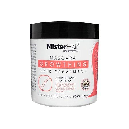Máscara Growthing Hair Treatment - Mister Hair - 500g