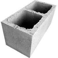 Bloco de concreto 3,0 mpa 19x19x39 ( vedação )