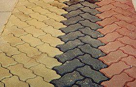 Piso intertravado Colorido 16 faces 6cm - M2