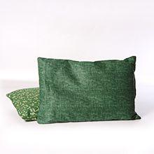 Almofada com ervas para aliviar a dor
